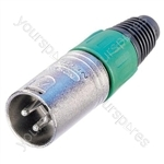Neutrik NC5MX-D25  Male 5 Pin XLR Line Connector