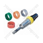 Neutrik PCR Coloured Marking Ring - Colour Red