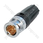 Neutrik NBNC75BTY11 rear TWIST BNC Line Plug 75 Ohm