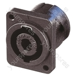 Neutrik NL4MP-M3 4 Pole Male Chassis Connector