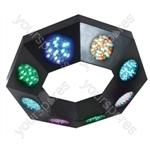 NJD LED Octo Circ DMX Lighting Effect