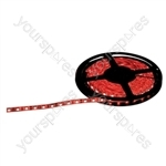 NJD Coloured Extra Flexible LED Tape light IP65 5M - Colour Red