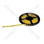 NJD Coloured Extra Flexible LED Tape light IP65 5M - Colour Yellow