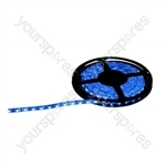NJD Coloured Extra Flexible LED Tape light IP65 5M - Colour Blue