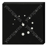 Glass Faced Touch Panel Dimmer for Led Lighting