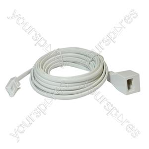 Telephone Extension Lead (BT Plug to BT Socket)