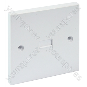 Flush Mounted 3/4A Master Telephone Socket with Screw Connections