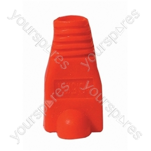 RJ45 Rubber Boot - Colour Red