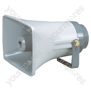 Rectangular Horn Speaker With Adjustable Bracket 20W