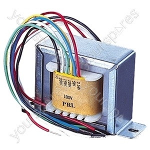 100V Line Transformer With 2.5, 5, 10W Tapings