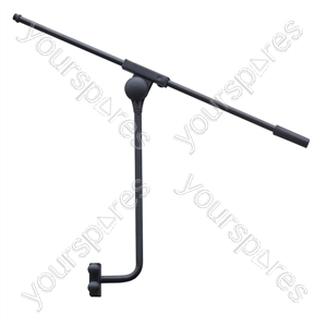 Pole-Mounting Microphone Boom Arm