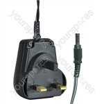 12 V DC 500 mA Regulated Switch Mode Power Supply 6W UK Plug