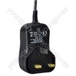 12 V DC 1000 mA Regulated Switch Mode Power Supply 12W UK Plug