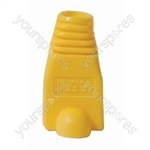 RJ45 Rubber Boot - Colour Yellow