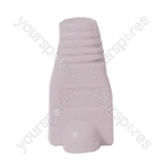 RJ45 Rubber Boot - Colour White
