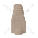 RJ45 Rubber Boot - Colour Grey