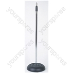 Microphone Stand with Round Base