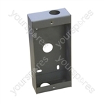 Bell 3-4 Way Door Entry Flush Mounting Back Box