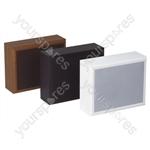Eagle 100 V Line High Wood Wall Speaker 8W - Colour Black