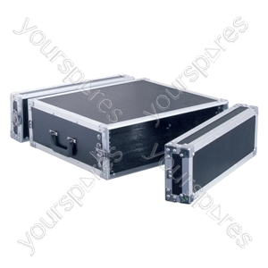Full Flight Rack Case with Front/Back Doors - Rack Size 3U