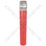 MicFx Wireless Microphone Sleeve Sensation Range - Colour Red