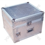 Full Flight Rack Case with 10U Mixer Top - Rack Size 6U