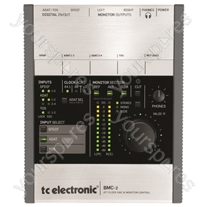 tc electronic BMC-2 - High Definition DAC and Monitor Controller