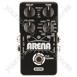 tc electronic Arena Reverb - Custom Tweaked Reverb Pedal