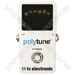 tc electronic PolyTune 2 - Poly-Chromatic Tuner