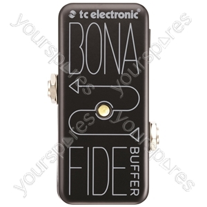 tc electronic Bonafide Buffer - Ultra Compact Analogue Buffer