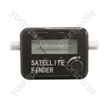 Electrovision Satellite Finder with Audible Signal