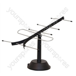 Digital Wideband Set Top TV Antenna