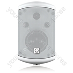 "Turbosound IMPACT TCI32-T-WH Pair of 2 Way 3.5"" 100v Line / 16 ohm Loudspeakers (White)"