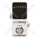 tc electronic PolyTune 2 Mini Polyphonic Tuner Pedal