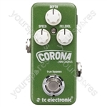 tc electronic Corona Mini Chorus Flexible SCF & Tri-Chorus Stompbox