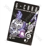 tc electronic G-Card - Artist Preset Card for G-Force