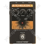 TC HELICON Voicetone E1 - Echo & Tap Delay Stompbox