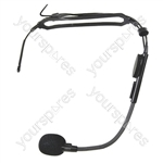 Trantec HM-33 Headworn Microphone with 3.5 mm Jack Plug