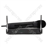 Trantec S4.4H-EA-UK Handheld UHF Radio Microphone System