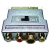 Scart Adaptor with Gold Plated SVHS Socket