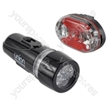 Union LED Cycle Light Set