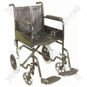 Attendant Propelled Steel Wheelchair