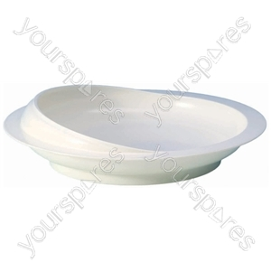 Scoop Plate - Colour White