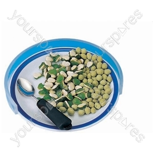 "Plastic Plate Guard - Size Size: 216 - 254 mm (8.5 - 10"")"