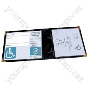 Wallet for Mobility or Disabled Parking Badge