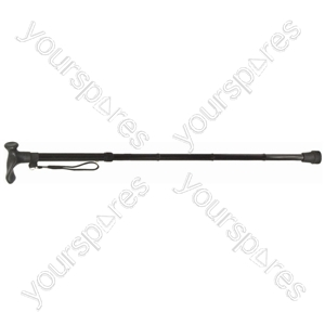 Collapsible Ergonomic Walking Stick - Configuration Right Handed
