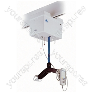 Wispa 100 Series Hoist Lift - Configuration OHWL CBEU: Mains Operated, Lift and Traverse