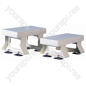 "Derby Plastic Bath Seat - Size Height: 154 mm (6"")"