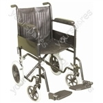 Attendant Propelled Steel Wheelchair