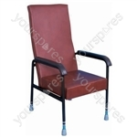 Longfield Lounge Chair - Colour Brown